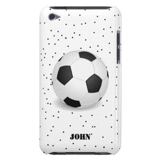 Black and White Soccer Ball iPod Touch Case