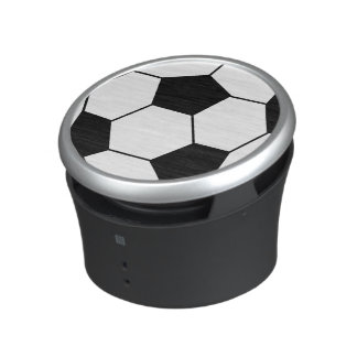 Black and White Soccer Ball Speaker