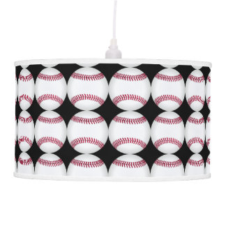 Black and White Soccer Decor Man Cave Modern Hanging Lamps
