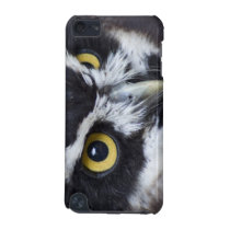 Black and White Specacled Owl iPod Touch 5G Cover