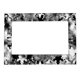 Black And White Spots Magnetic Frame