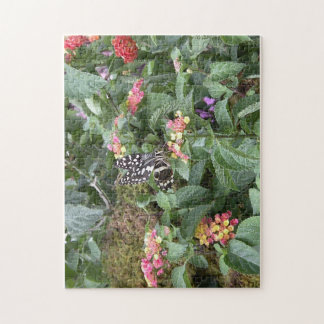 Black and White Spotted Butterfly Puzzle