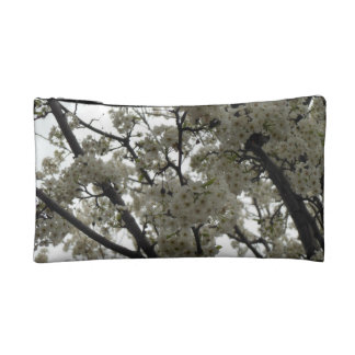 Black and White Spring Makeup Bag