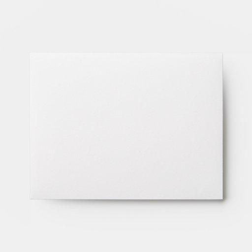 Black and White Square Design. Envelopes
