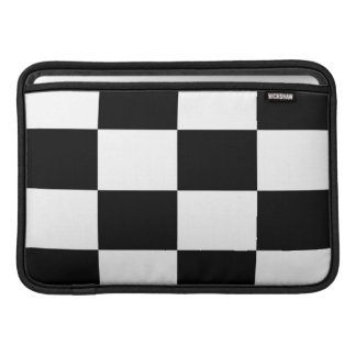 Black And White Squared Mac Airbook Sleeve Sleeves For MacBook Air
