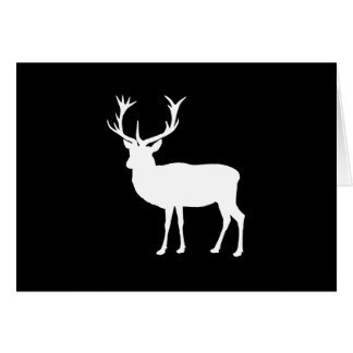 Black and White Stag Party Bachelor's Party Card