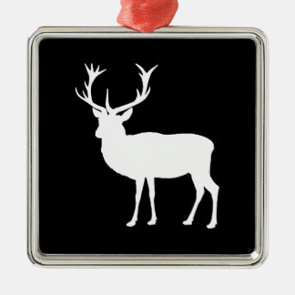 Black and White Stag Party Bachelor's Party Metal Ornament