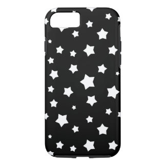 Black and white stars pattern iPhone 7 case