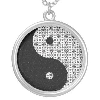 Black and White Stars Yin Yang Custom Jewelry