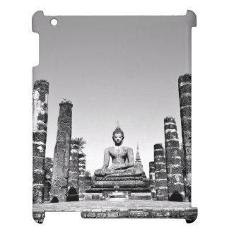 Black and white statue idol iPad covers