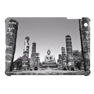 Black and white statue idol iPad mini cases
