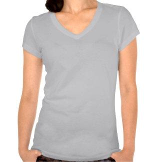 black-and-white stick figure stenographer t shirt