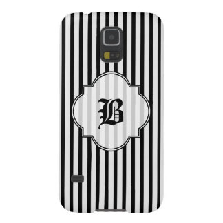 Black and White Stripe Case For Galaxy S5