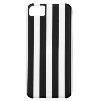 Black and White Stripe (White Side) Case For iPhone 5C