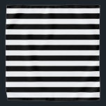"""Black and White Striped Bandana<br><div class=""""desc"""">This cute bandana is the perfect accessory for you,  your child or your favorite dog.</div>"""