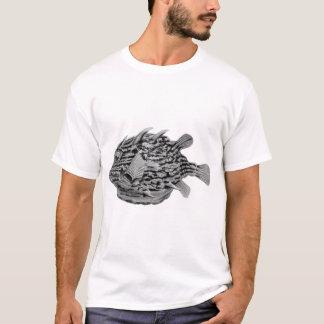 Black and White Striped Cowfish T-Shirt