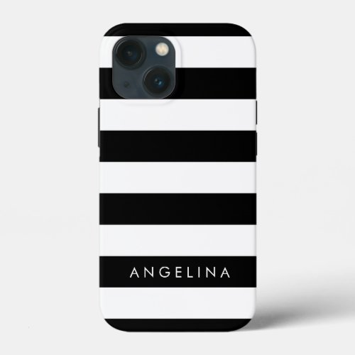 Black and White Striped Pattern and Modern Name