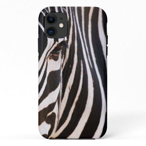 Black and White Striped Zebra Case-Mate iPhone Cas