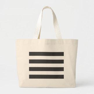 Black and White Stripes Bag
