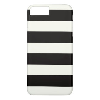 Black and white stripes iPhone 7 plus case