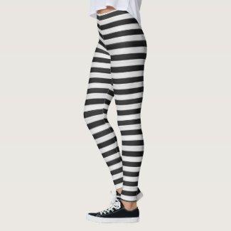 8fa3cf96f963ae Black and white stripes leggings