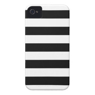 Black and White Stripes Pattern iPhone 4 4s Case