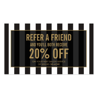 Referral Business Cards & Templates   Zazzle