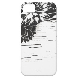 Black and White Succulent Plants iPhone 5 Covers