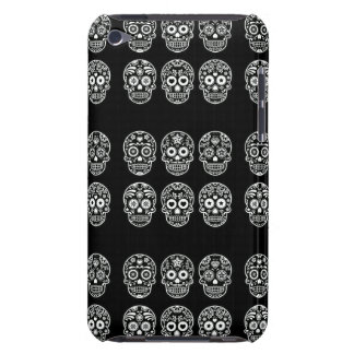 Black and White Sugar Skull Barely There iPod Case