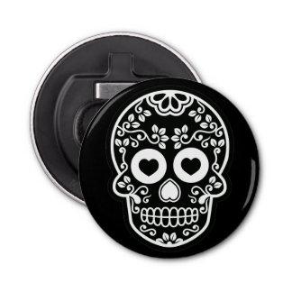 Black and White Sugar Skull Vine