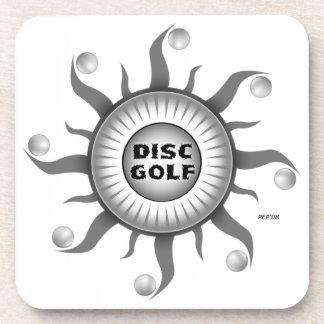 Black And White Sun Coaster