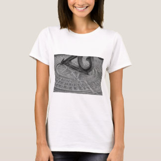 Black and white sun dial T-Shirt