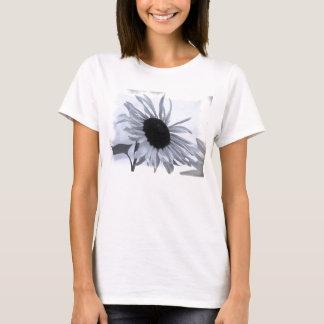 Black And White Sunflower Women's Shirt