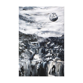 Black and White Surreal Fine Art Canvas Print