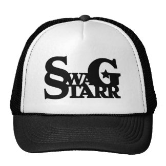 Black and White Swag Starr Hat
