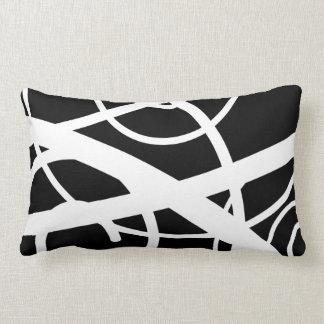 Black and white Swirl Pillows