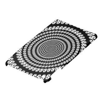 Black and White Swirly Design iPad Mini Covers