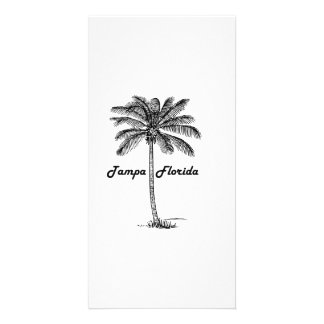 Black and White Tampa & Palm design Card