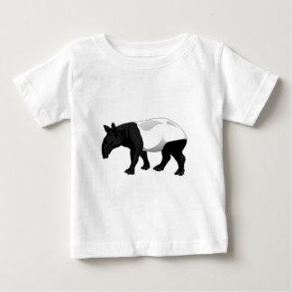 Black and White Tapir Shirt