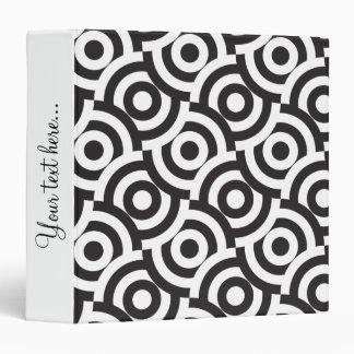 Black and white targets binder