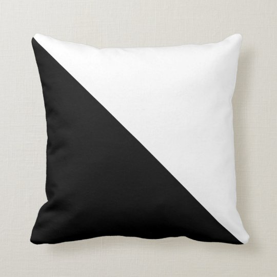 black and white throw pillow. Black Bedroom Furniture Sets. Home Design Ideas