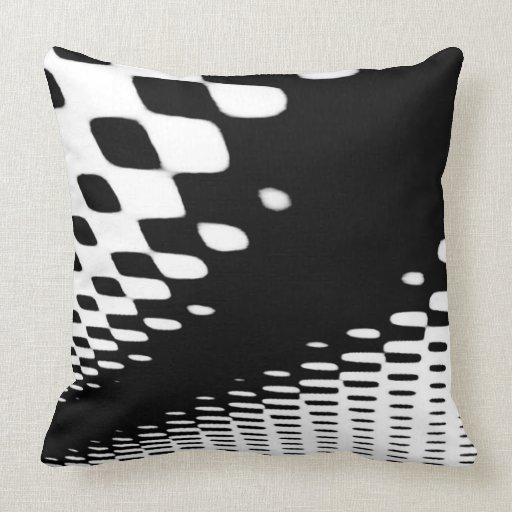 Black And White Throw Pillows Zazzle