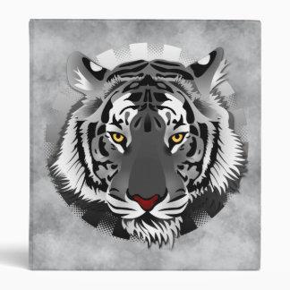 Black And White Tiger Binder