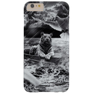 Black and White Tiger Boat Sailing Skylight Barely There iPhone 6 Plus Case