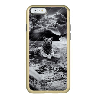 Black and White Tiger Boat Sailing Skylight Incipio Feather® Shine iPhone 6 Case
