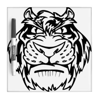 Black and white tiger Dry-Erase whiteboards