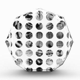 Black and White Tiger Polka Dots pattern Award