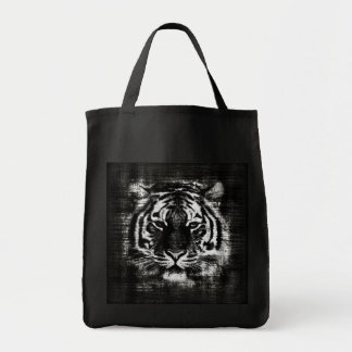 Black and White Tiger Vintage Bags