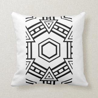 Black and White Tile Pillow