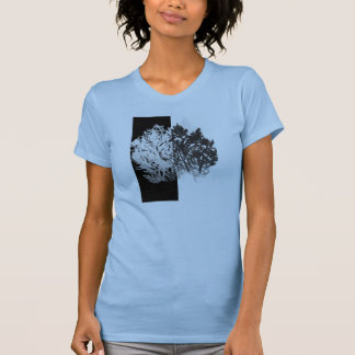 black and white tree design T-Shirt
